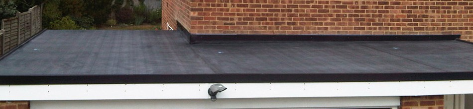 Rubber flat roofing Leicester